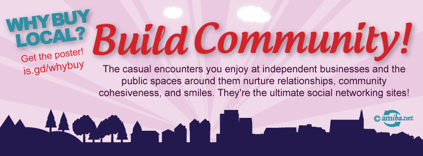 Reason #1 – Build Community!