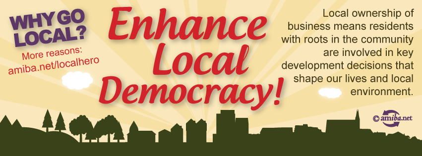 Reason #8 – Enhance Local Democracy!