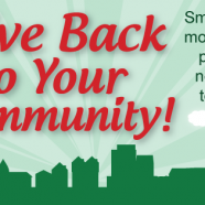 Reason #10 – Give Back to your Community!