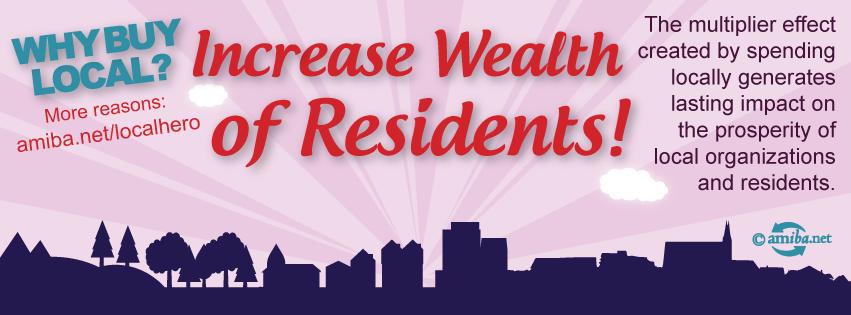 Reason #9 – Enhance Wealth of Residents!