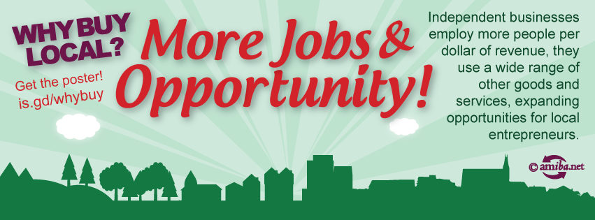 Reason #5 – More Jobs & Opportunity!