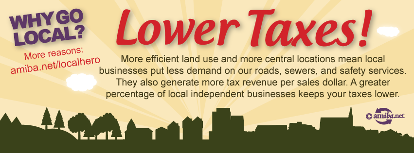 Reason #4 – Lower Taxes!